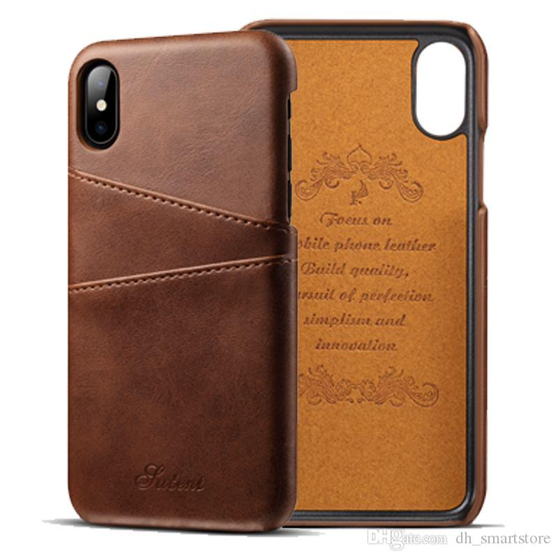Capa For iPhone 11 pro xs max xr x 8 6s 7 Plus Case PU Leather Luxury Wallet Card Slot Back Cover Oil Wax Coque for samsung s8 plus note 8