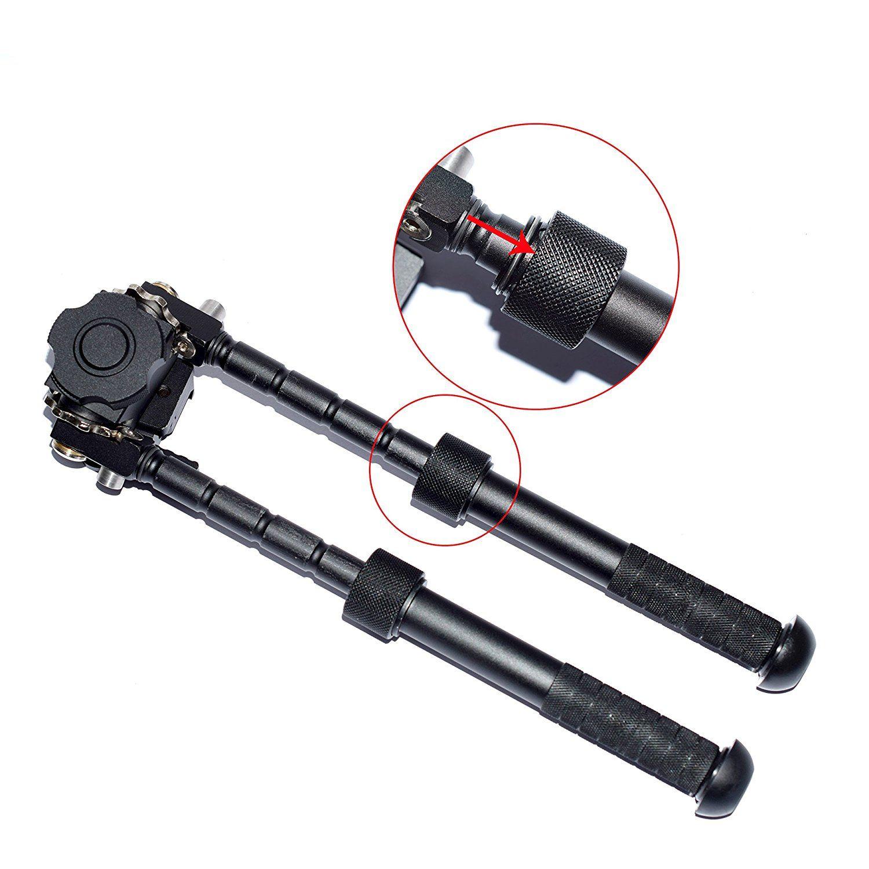 Quick Detach Rifle Bipod Atlas V8 BT10-LW17 Bipiede 21,7 mm Standard Rail Mount con ADM 170-S-TAC-R Leva pistola / fucile / AR15