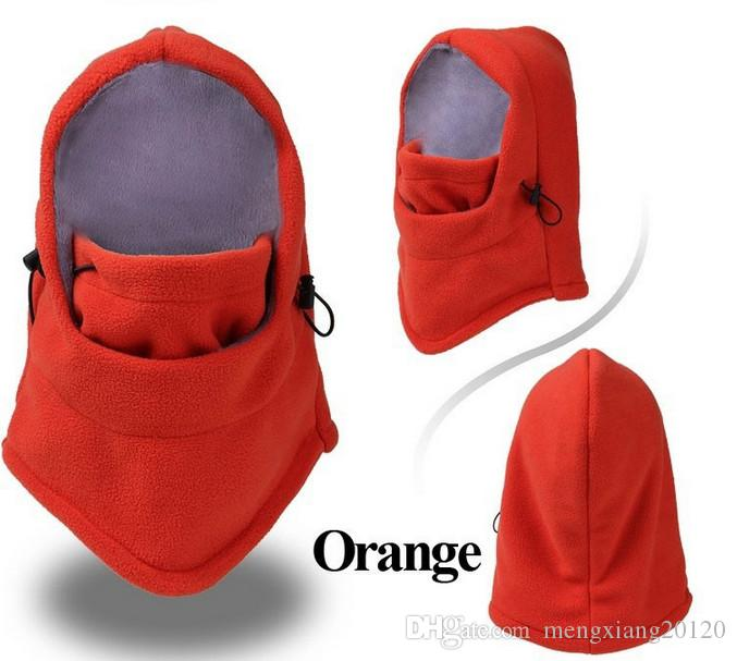 New Outdoor Sports Neck Fleece Breathable Balaclavas Hat Headgear Winter Skiing Ear Windproof Warm Mask Motorcycle Bicycle Scarf