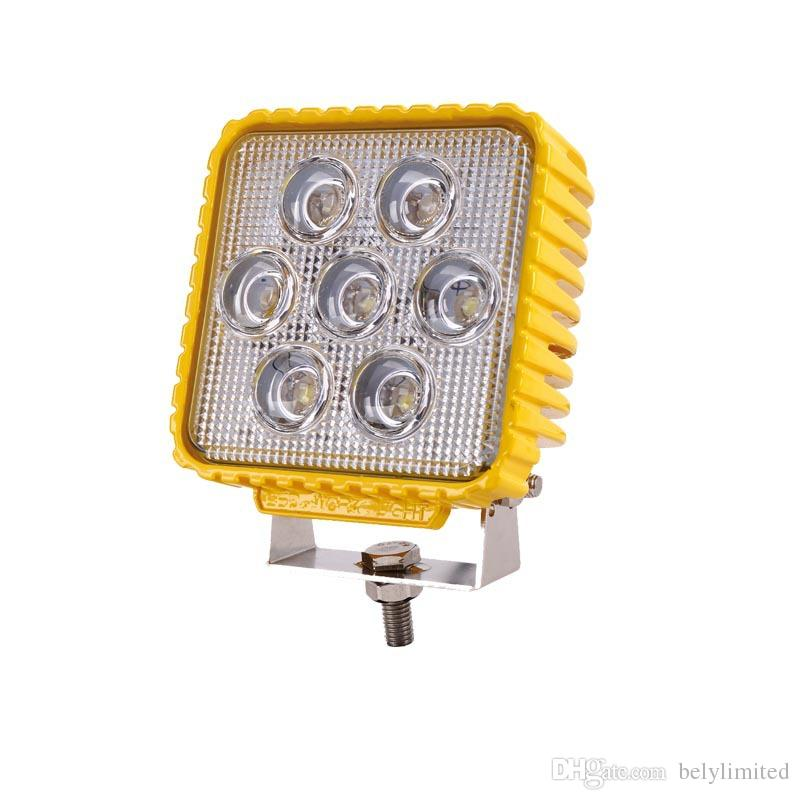 Hot selling waterproof car lights led spot / flood 24v truck offroad 35w led work light 2300lm HIGH POWER LED Lamp