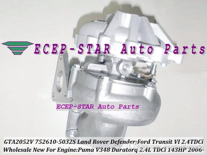 GTA2052V 752610-5032S 752610-5025S 752610 752610-0012 Turbo Land Rover Defender Ford Transit VI 2006- 2.4T DCi Pum a 2.4L 143HP