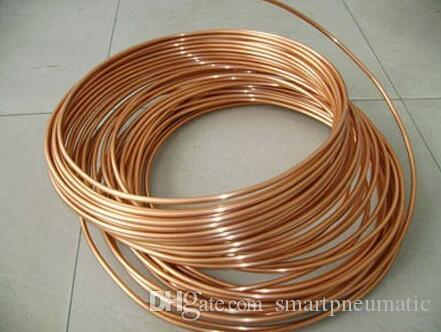 2018 6*0.6 Mm 1m Brass / Soft Copper Coil / Capillary Tube / Pipe ...