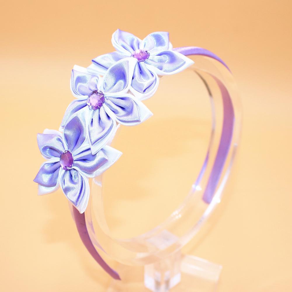 15 unids colorida flor de la estrella banda de pelo bebé niña Rhin banda para el cabello bebé niños princesa diadema niños accesorios para el cabello para niñas