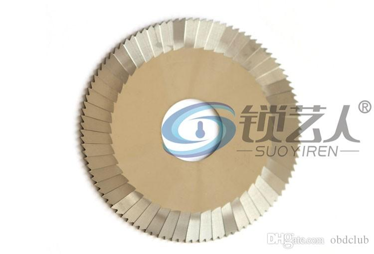 Raise Tungsten steel three-blade 0023C.C milling cutter For WenXing Key Cutting Machine 100G,202A,100G1 locksmith