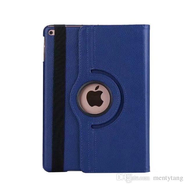 Para el caso Apple iPad Pro 10.5 pulgadas / 9.7 pulgadas de cuero de la PU cubierta elegante del tirón del soporte de la cubierta 360 protector de pantalla giratoria película Stylus Pen regalos