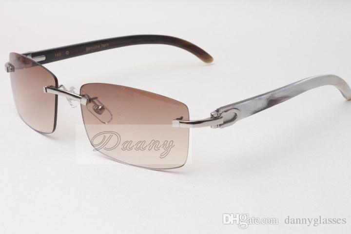 Gafas de sol sin marcar en las gafas 3524012 MEZCLA NATURAL MEJOR MEJO HOMBRES Y MUJERES Gafas de sol Gafas Eyeglassessize: 56-18-140mm
