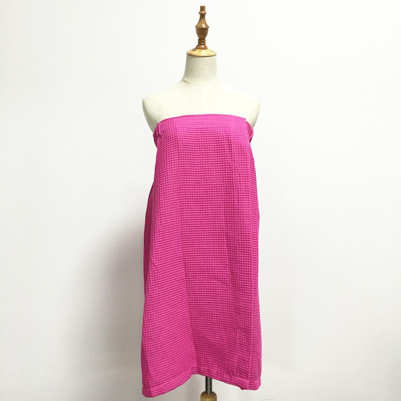 الوردي الأبيض الهراء منشفة التفاف السيدات عالية واسط الهراء تنورة لبس منشفة دش هدية الزفاف حزب هدية في لونين DOM106547