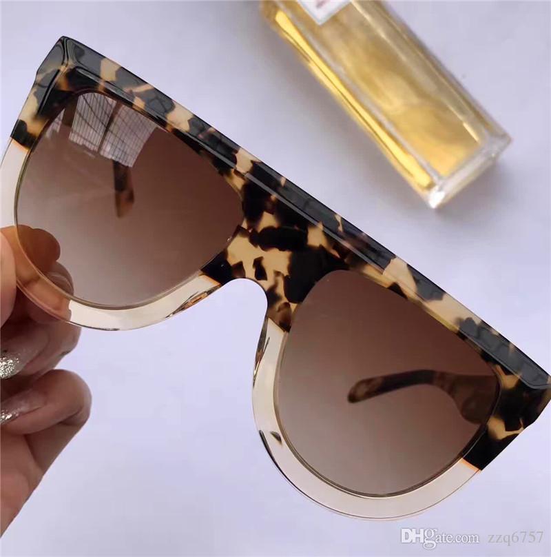 novo design óculos CE mulheres moda óculos de sol 41398 Audrey óculos de sol de qualidade superior metarial quadro leopardo estilo verão lente UV400