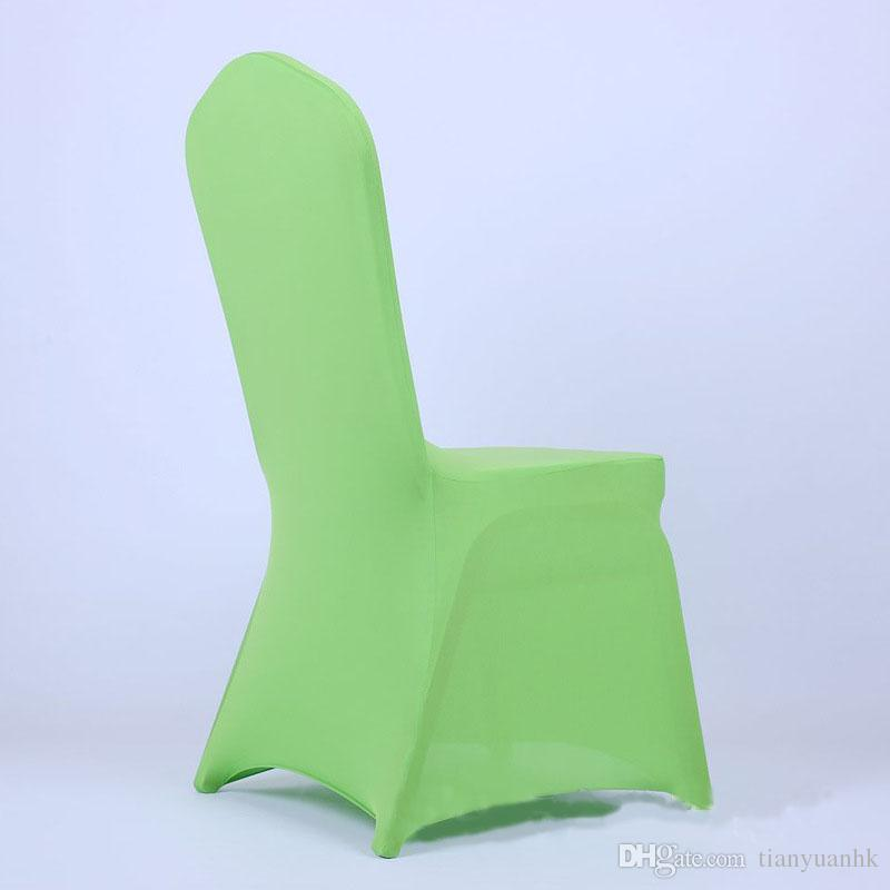 Thick Flat Spring Seat Cover Banquet Meeting Hotel Wedding Wedding Chairs  Seat Back Cover Chair Covers Online With $13.01/Piece On Tianyuanhku0027s Store  ...