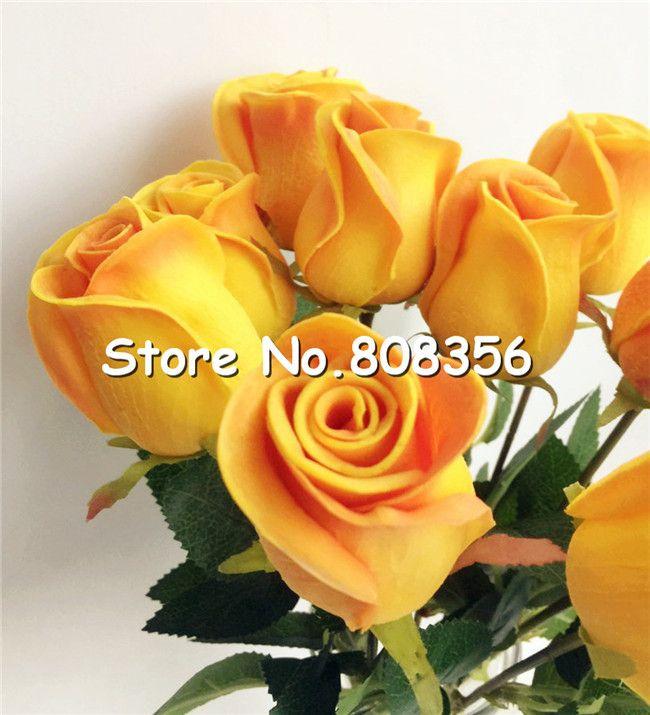 un tocco reale Rose simulate finte in lattice Roses 43cm lungo di i la festa nuziale di fiori artificiali decorativi