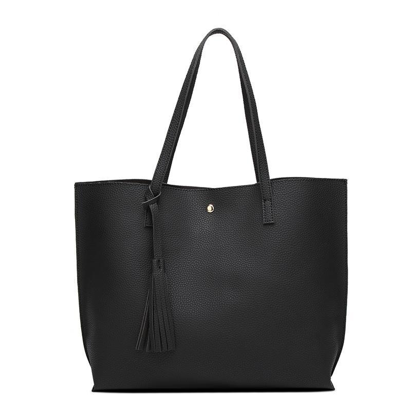 4f262f6ad3fa Wholesale-LEFTSIDE Women Messenger Shoulder Bags Big PU Leather Bag ...