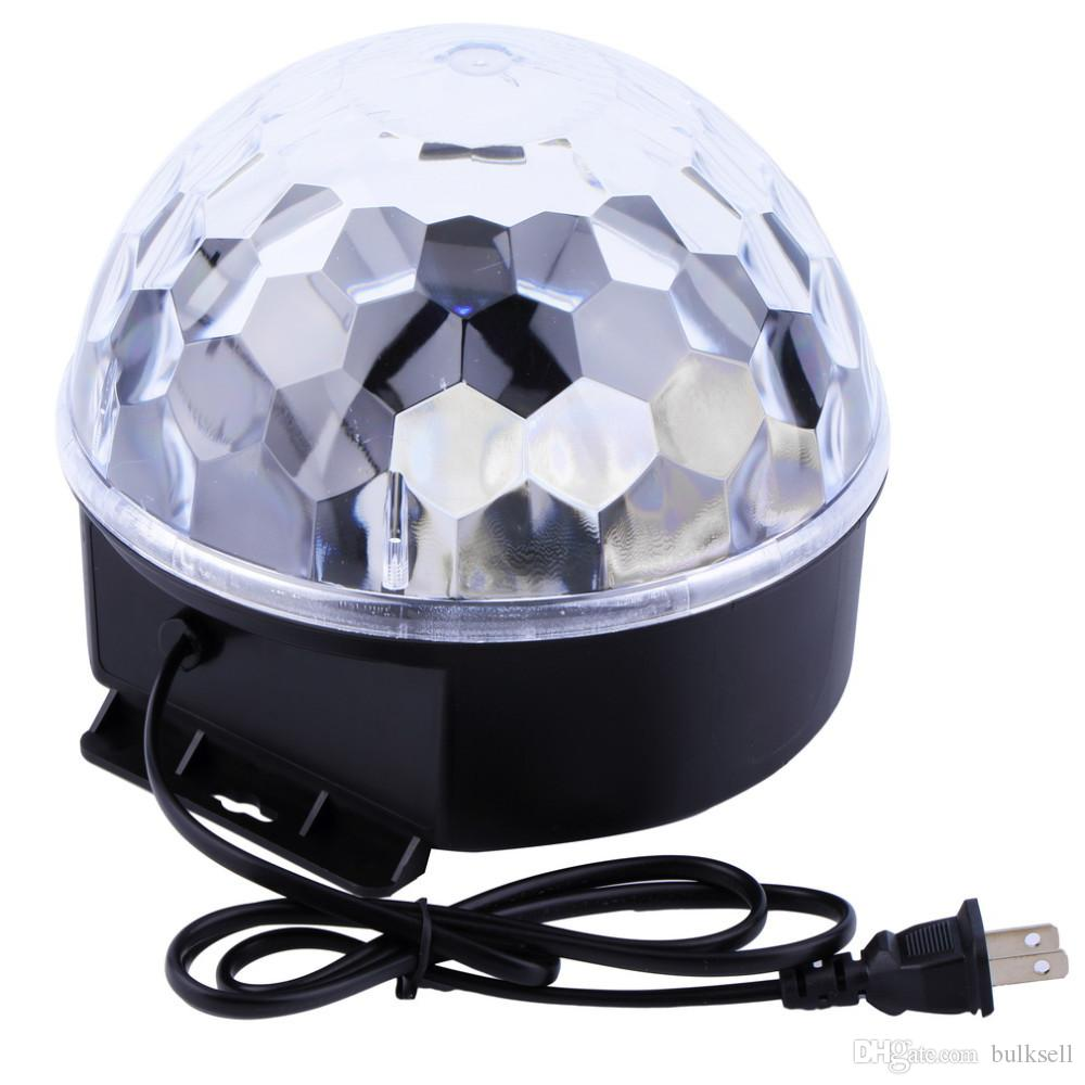 6 Farben LED Kristall Magic Ball Effektlicht für Disco DJ Stage Party