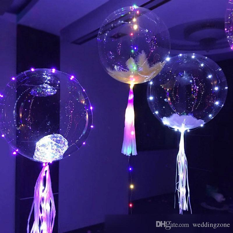 18 inch Transparent PVC Latex Balloons Party Ballons Decoration For Wedding Dinner Christmas Eve With