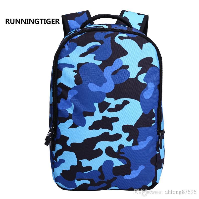 Primary and secondary school students backpack kindergarten shoulder bag bundle pocket