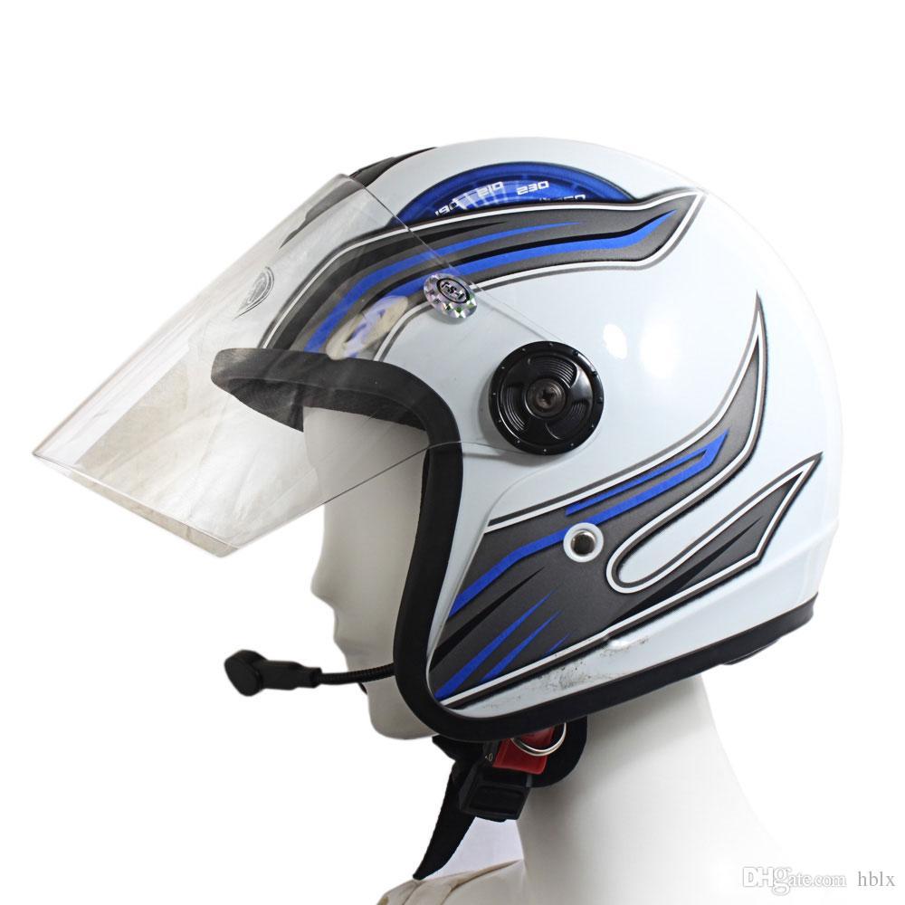 새로운 V1-1 Motos 오토바이 무선 블루투스 헤드셋 헬멧 이어폰 MOT_506