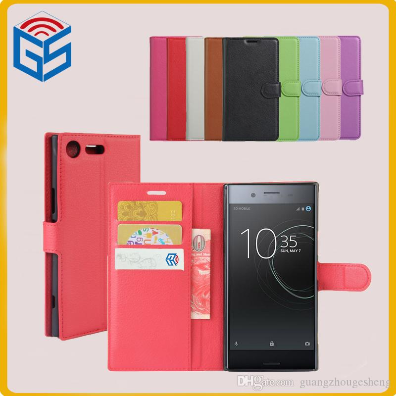 the latest a8f36 31792 2017 New Arrival Cell Phone Case For Sony Xperia Xz Premium G8141 Flip  Leather Cover Case Free Shipping