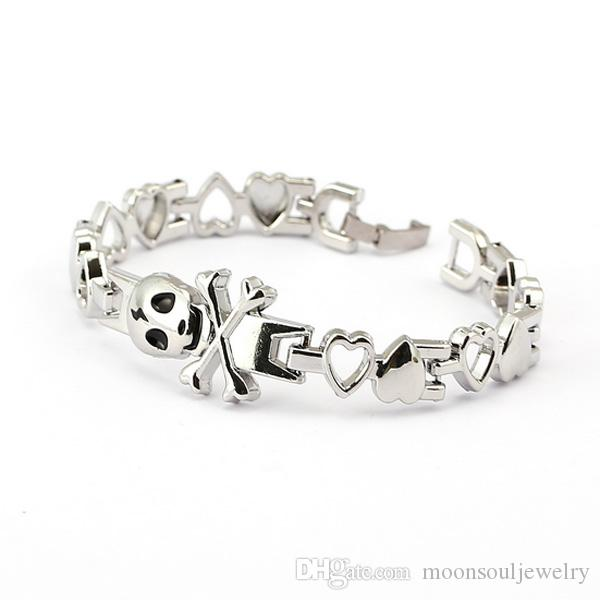 Fashion Alloy Europe and the United States love chain hand ring cross love bracelet silver bracelet the best Valentine 's Day gift