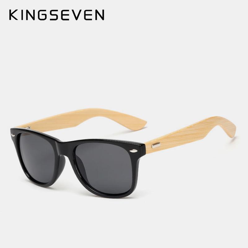 Großhandel Kingseven Bambus Rahmen Sonnenbrille Männer Holz ...