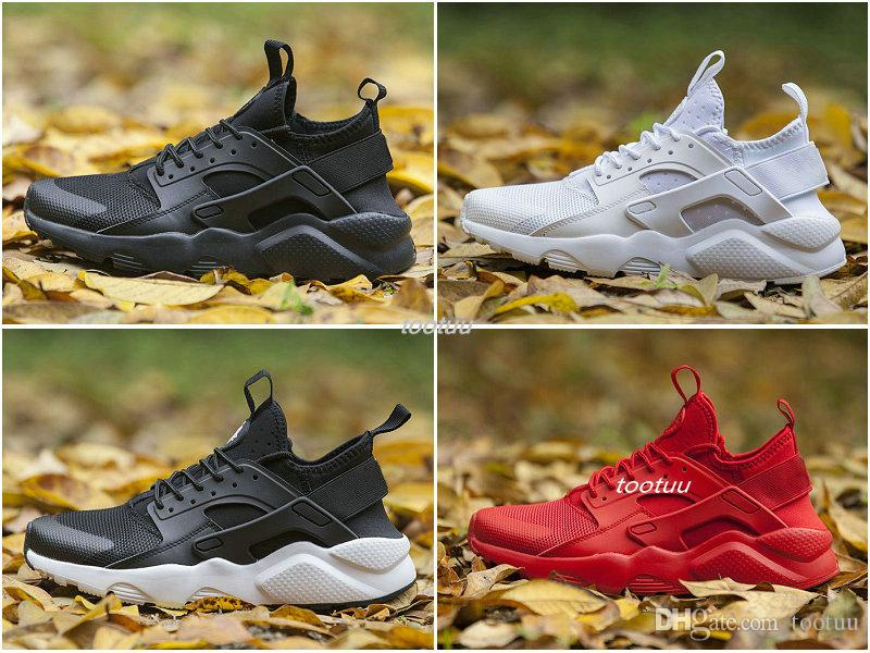 Fashion sports shoes 2018 New Air Huarache I Running Shoes For woman Sneakers Triple Huaraches 1 Trainers huraches Sports Shoes clearance extremely ILUcLf3