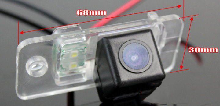 Для A8 S8 D3 4E 2003-2007 камера заднего вида автомобиля / резервное копирование парковка камера HD CCD ночного видения