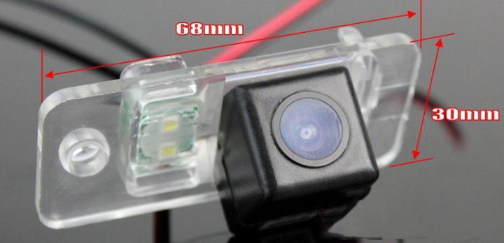 Para A8 S8 D3 4E 2003-2007 carro Rear View Camera / Back Up Estacionamento Câmera HD CCD Night Vision