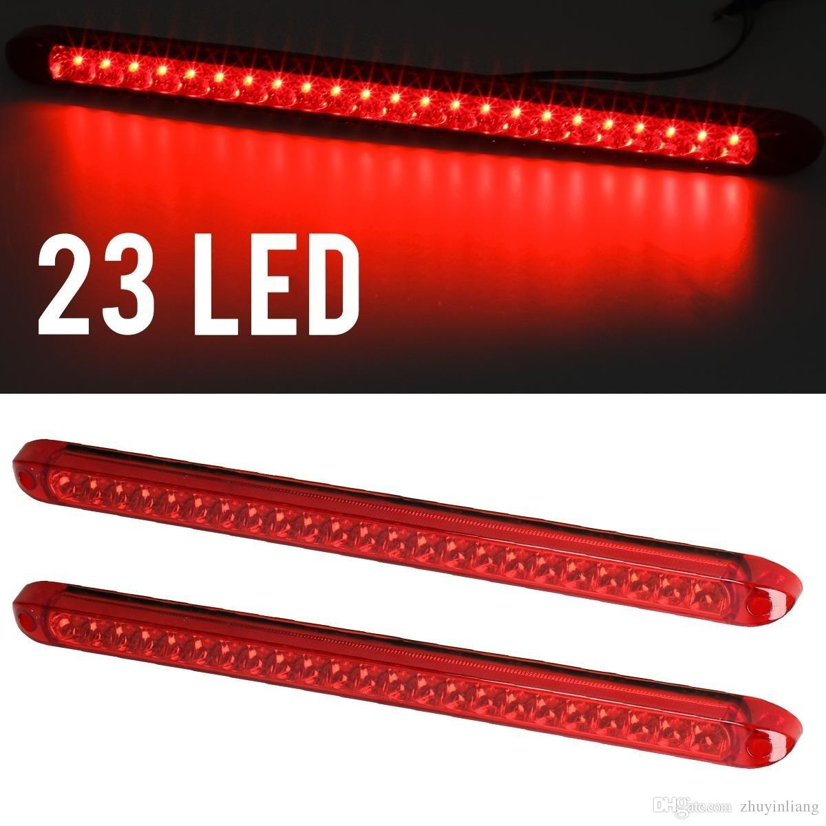 Led Submersible Trailer Light Supplier Kuxniya This Old Wiring Tail Lights Etrailercom Youtube Red 23led Bar Stop Turn 3rd Brake Truck 17 Auto Parts