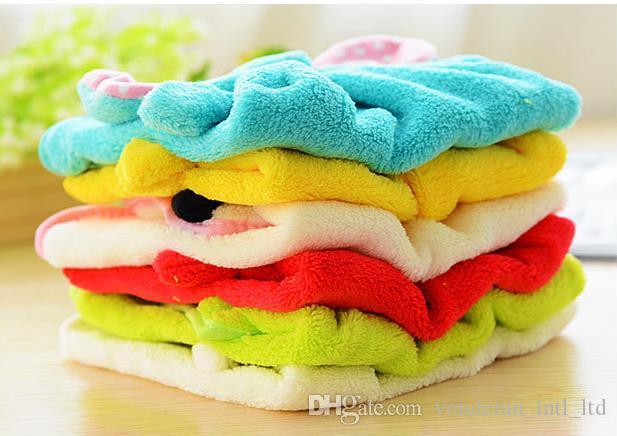سوبر لينة المرجانية منشفة المخملية منشفة المطبخ شنقا الحيوانات الكرتون منشفة