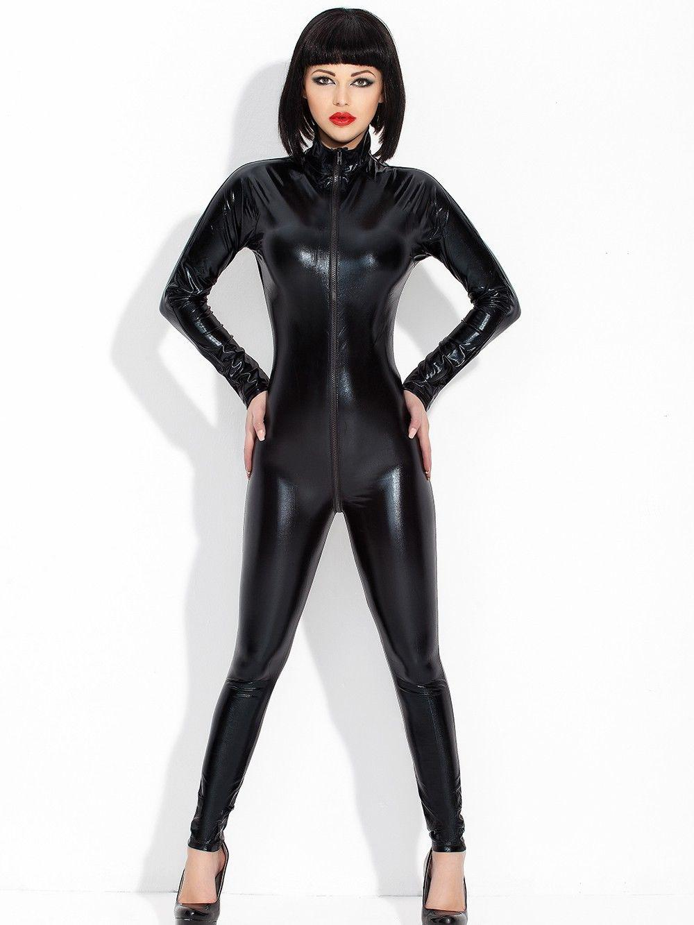 sexy deutsche fickt geil in catsuit dress
