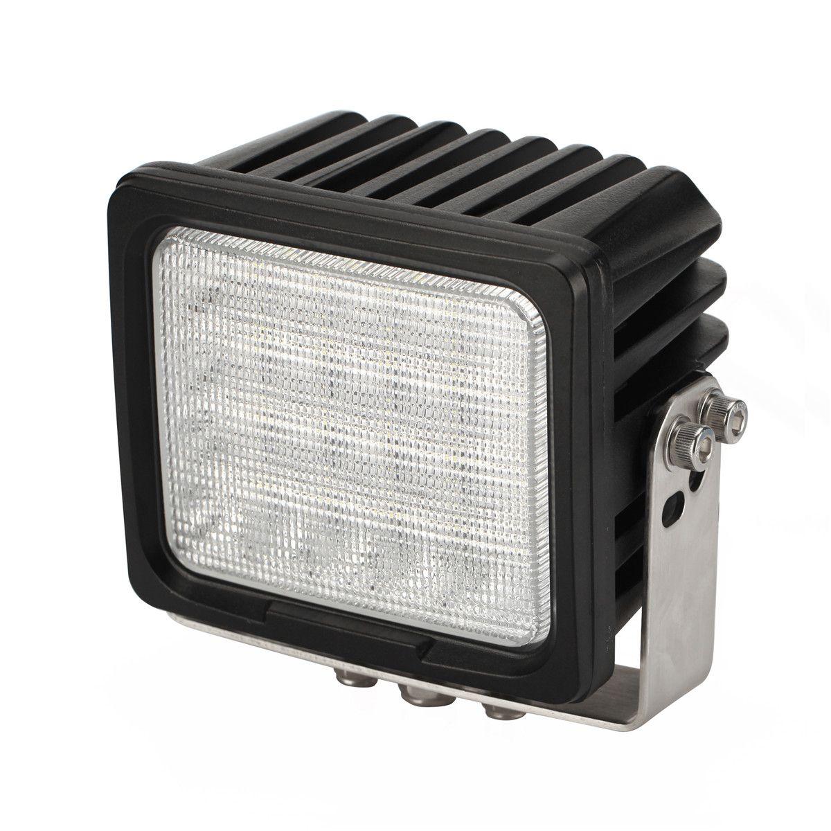 "DHL 6"" 100W 20LED*5W CREE Chips LED Driving Work Light Square Offroad SUV ATV 4WD 4x4 Spot Penc / Flood Beam 9-30V 10000lm Super Bright"