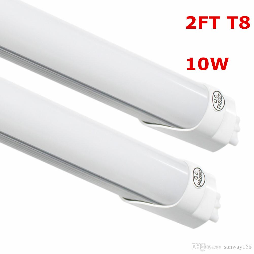 10w 0 6mt8 Led Light 2 Ft 85 265v Ac 3000 6500k Bulb Lamp Fluorescent Smd2835 Cool Warm White T8 S 2ft Lights
