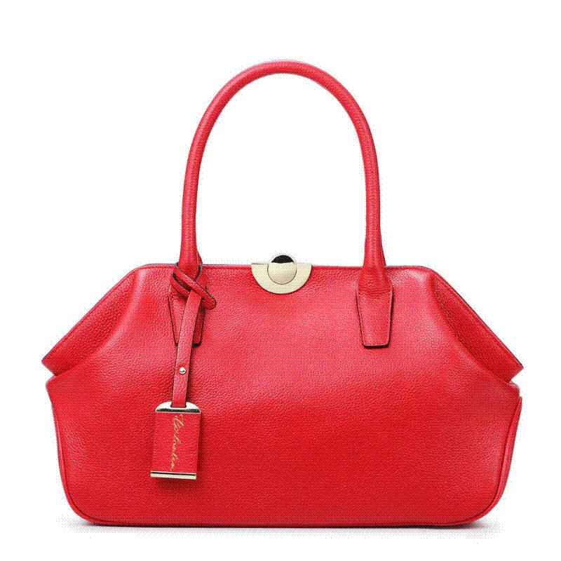 Bostanten Genuine Leather Bags Ladies Real Leather Bags Women ...