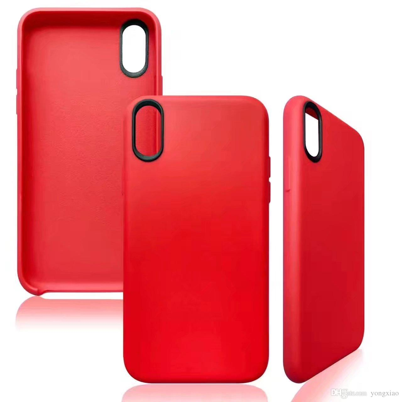 coque apple iphone x red