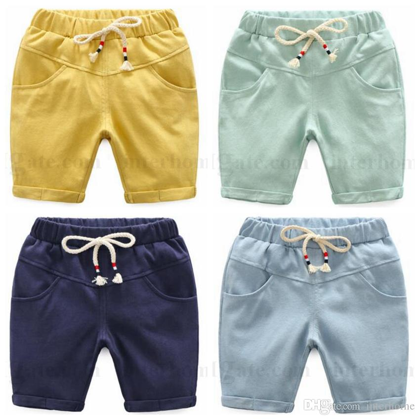 8a12185f74e Baby Clothing Boys PP Pants Summer Shorts Infant Cotton Fashion Half  Trousers Kids Long Casual Shorts Capri Pants Baby Leisure Clothing H465  Toddler Spandex ...