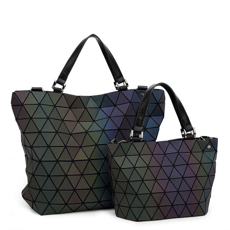9cc1ee946f23 Large Capacity Women Luminous BaoBao Bags Folding Drawstring Fashion ...