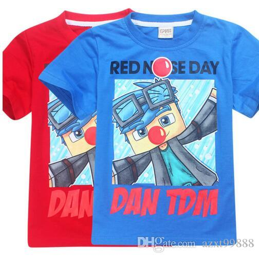 summer kids t shirt boys clothes roblox children clothing girls short sleeves boys t shirt red nose day roupas infantis menino summer kids t shirt boys