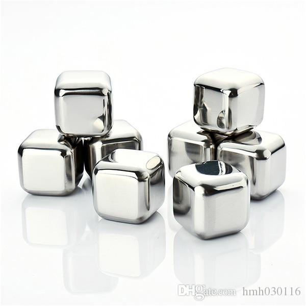 Stainless Steel Whiskey Stones Ice Cubes Age Glacier Cooler Stone Rock Ice Cube Songs Soapstone Drink Freezer