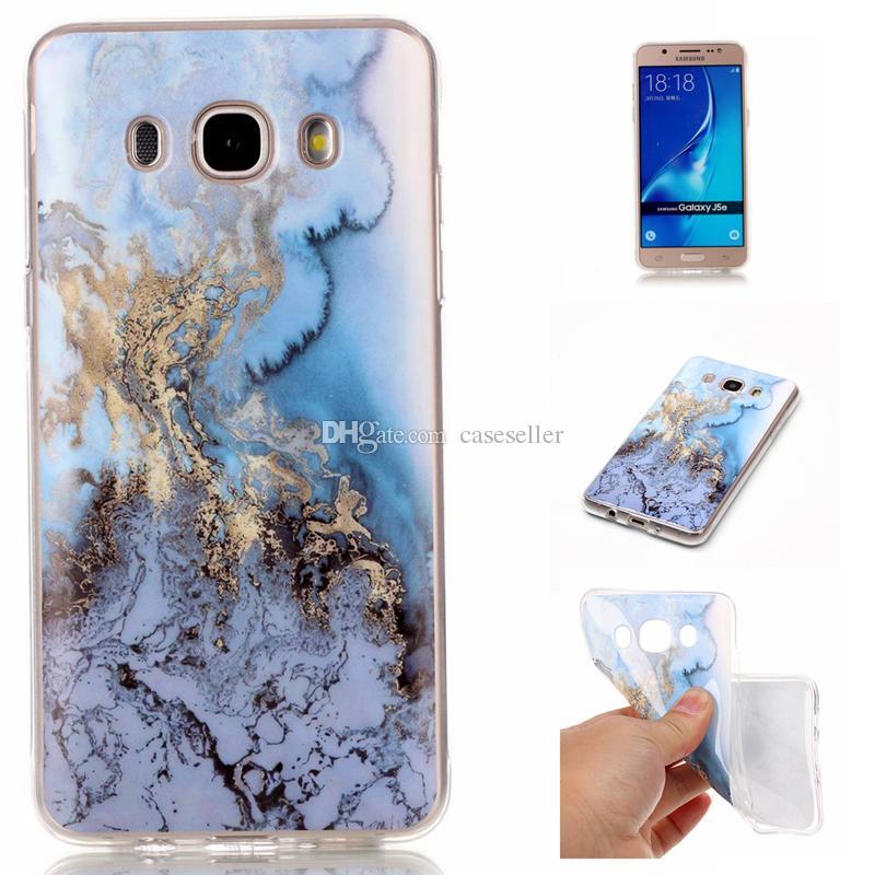 Marble Patten Stripe Rock stone design image Custodia in TPU verniciato Samsung Galaxy S6 edge Bordo S7 G530 J3 J5 J7 J510 J710