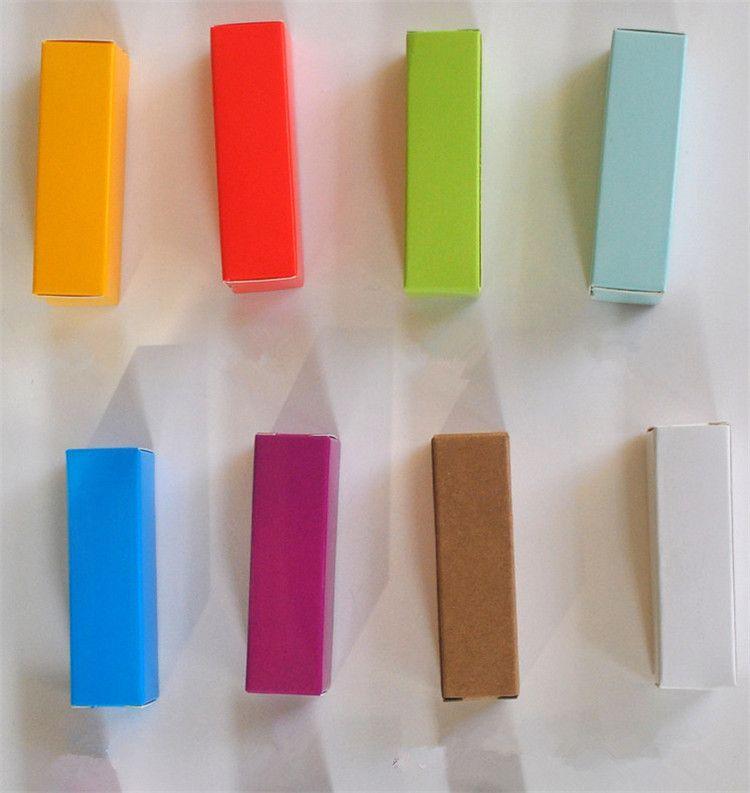 2*2*8.5cm individual cosmetics paper box for lipstick tube packaging/ lipstick tube paper packaging box DHL