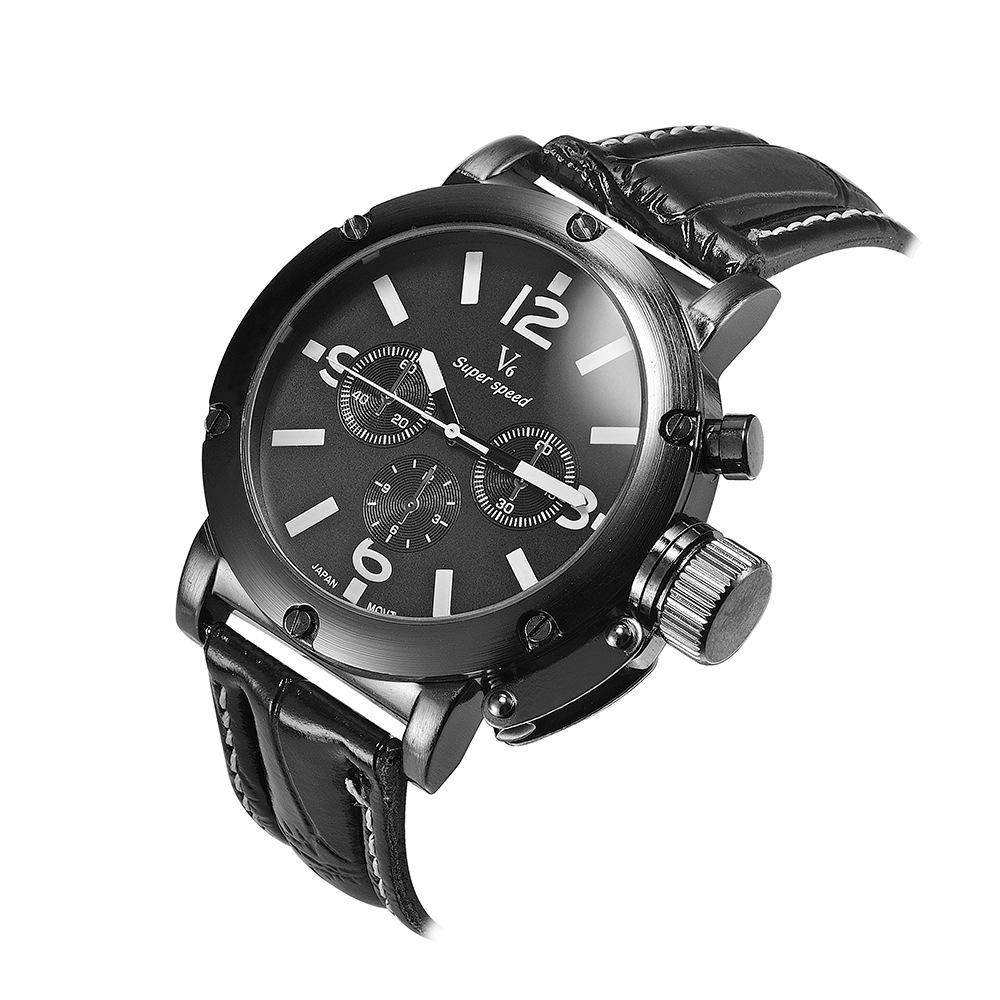 2858582a965 Promotion Fashion V6 Military Watch Man Business Casual Quartz Analog  Wristwatch Clock Relogio Masculino VP314 QXQ Online Buy Watch Buy Wrist  Watches From ...