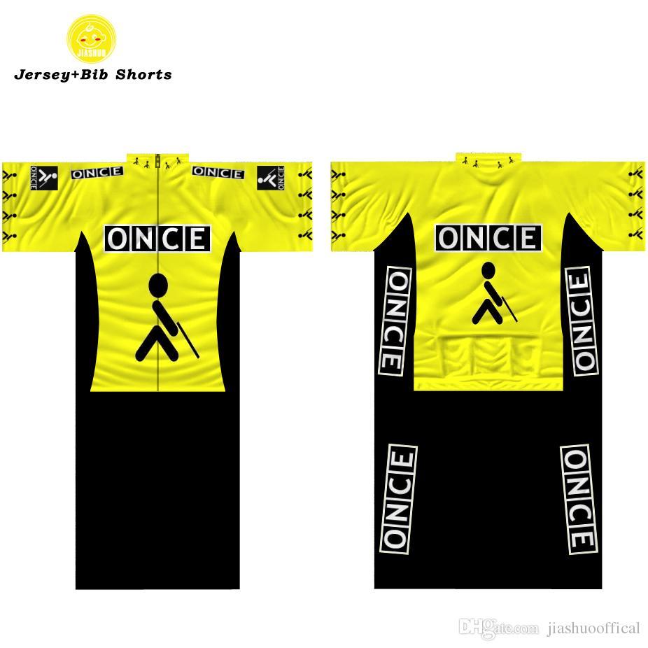 5f450bdb7 Multi Chooses NEW 2017 Yellow Retro Mtb Road RACE Team Bike Pro Cycling  Jersey Sets Bib Shorts Clothing Breathing Air JIASHUO Customized Cycling  Jerseys ...