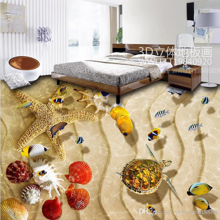 wallpaper luxus 3d flooring Custom 3d floors Flowers and plants green plants mural wallpaper vinyl flooring wallpaper living room