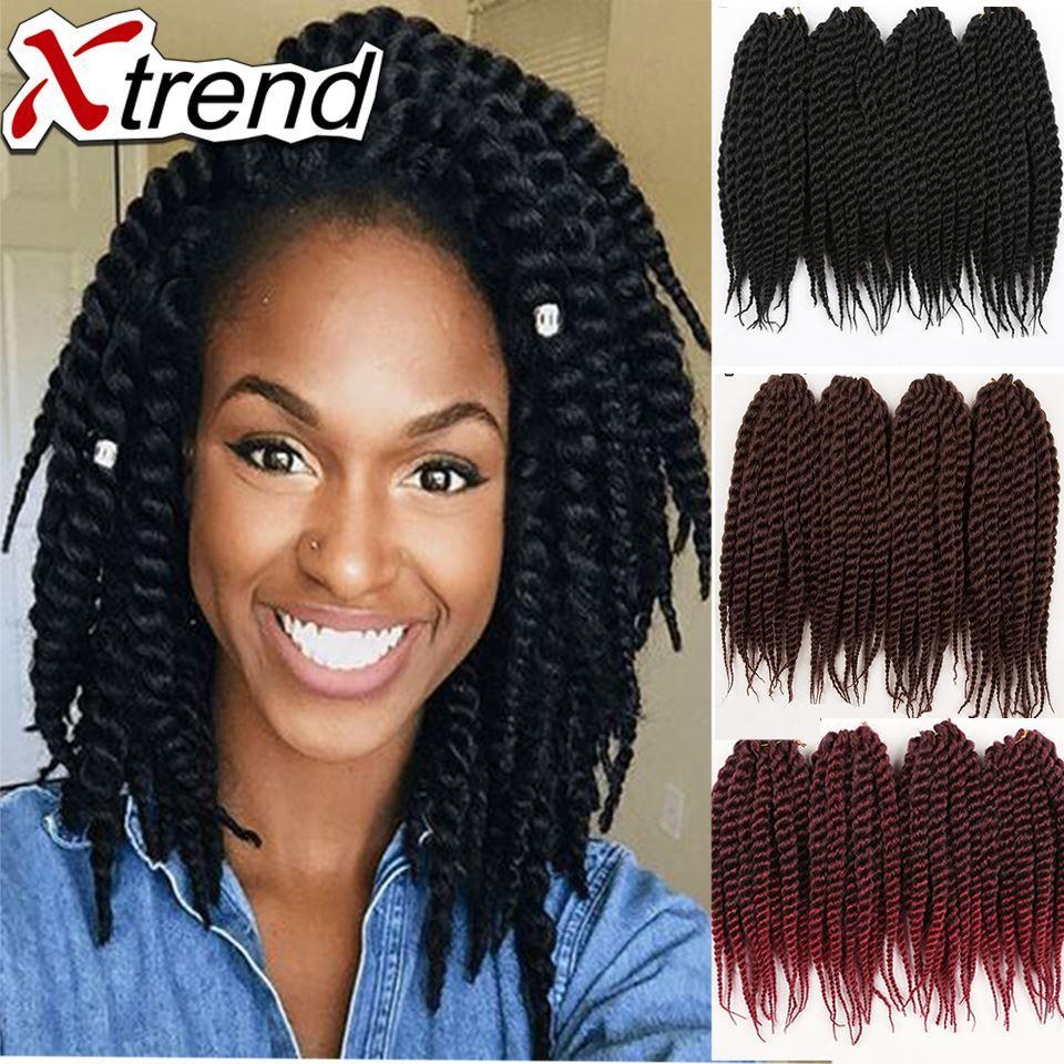Havana Mambo Twist Crochet Braid Hair 12inch 85g Synthetic Lace