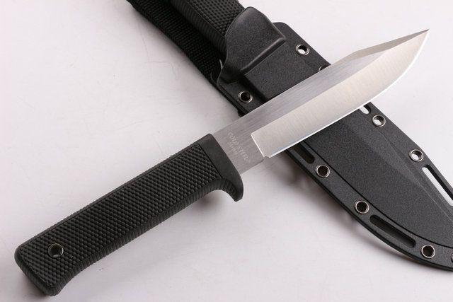 Продвижение Cold Steel SRK выживания прямой нож 9Cr18Mov 59HRC Атласное лезвие Открытый Отдых Охота Fixe Лезвие ножа ножи