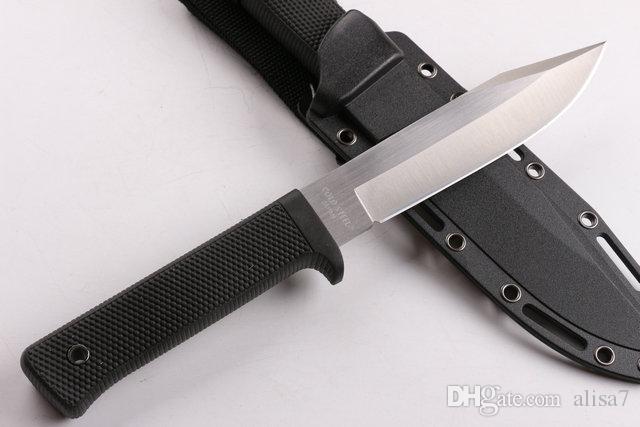 Promozione Cold Steel SRK sopravvivenza coltello dritto 9Cr18Mov 59HRC lama di raso di campeggio esterna caccia Fixe lama coltelli