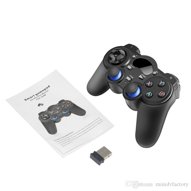 Universal 2.4G Wireless Game Controller Gamepad Joystick for Android TV Box Tablets PC Windows 8/7/XP with Retail Packaging
