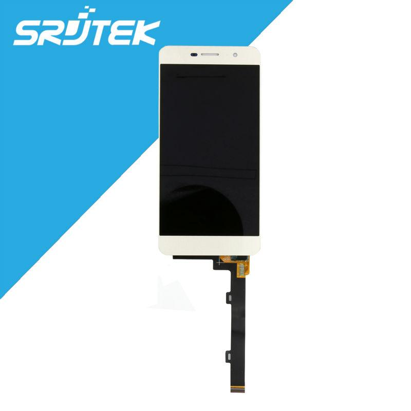 Wholesale-For Huawei Y6 Pro Y6Pro / G LCD Display with Touch Screen  Digitizer Glass NEW 5 0 inch 1280*720 Replacement White