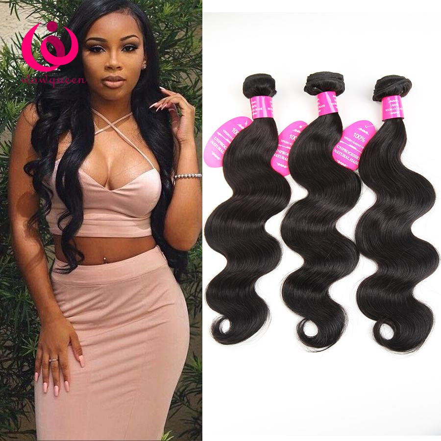 Remy Body Wave Hair Weave Bundles Wow Queen Brand Cheap Wholesale