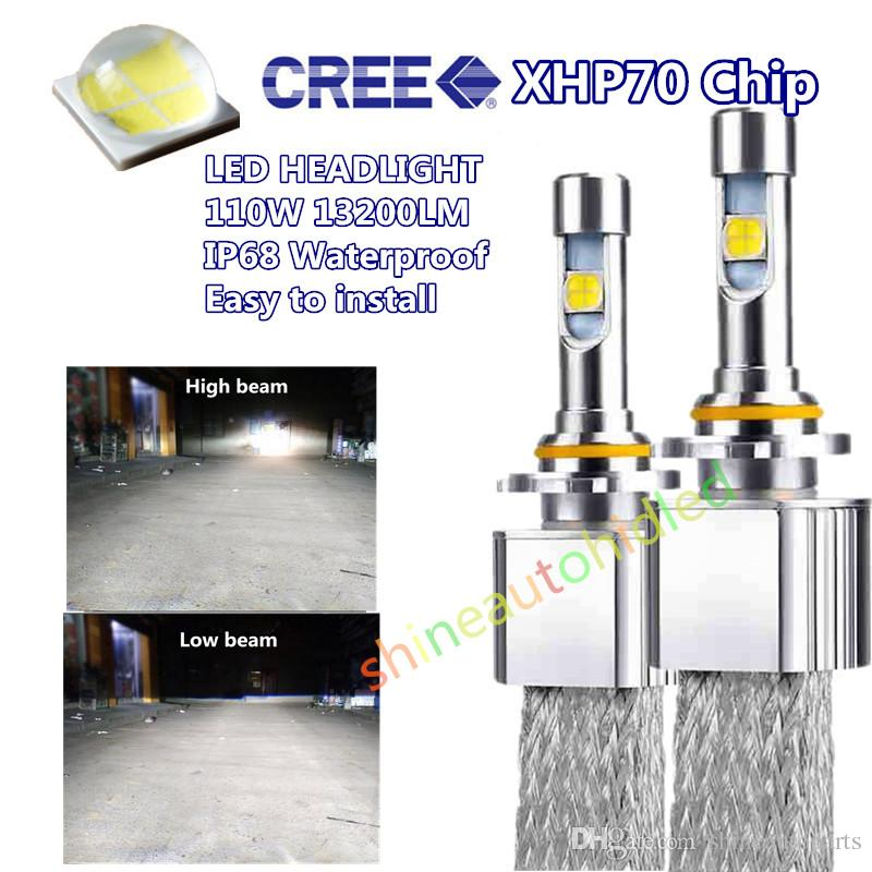Lampe H8 Automatique Les 13200lm Kit Ampoule Voiture 9012 Led Phare H7 9006 110w H4 H11 Emc Xhp70 Frontale Canbus Cree H9 Remplacer 9005 6000k UpSMGVqz