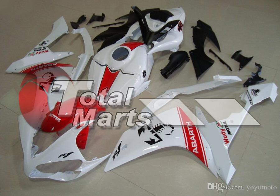 Fairing Fit For Yamaha YZF R1 R 1 YZF-R1 YZFR1 07 08 2007 2008 Injection Black FA8731 White FA8736 Blue FA8741 FA8742 Red FA8743
