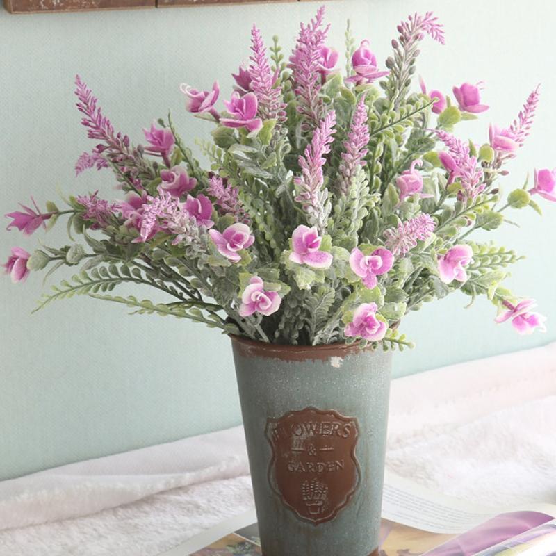 UBIZ Artificial Icker grass wedding eternal flower home office decoration silk made wall indoor decor vase flores handmade plants